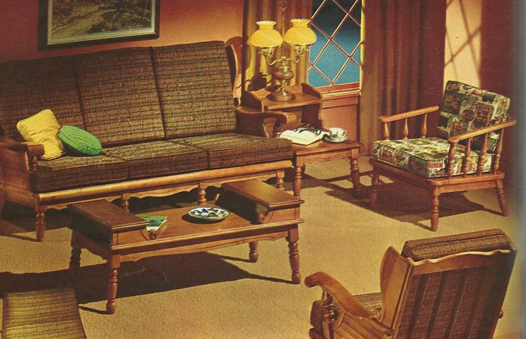 Found a 1965 sears catalog and wanted to share some of the for Fun living room furniture