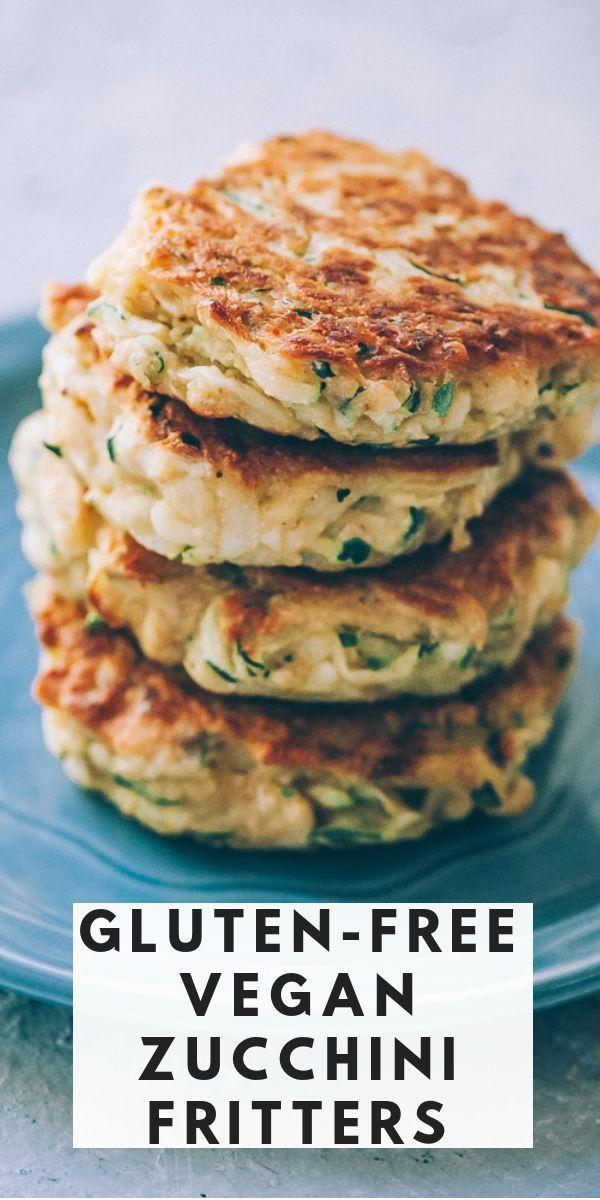 Vegan Zucchini Fritters Gluten Free Recipe Zucchini Fritters Vegan Zucchini Fritters Fritters
