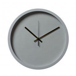 Home Republic Malmo Clock Grey, grey clock, clocks