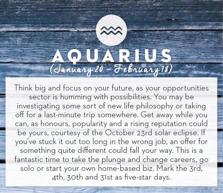 Get your horoscope for the month of October! #horoscopes #aquarius