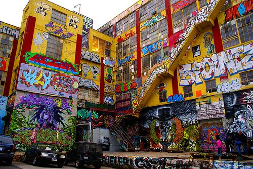 Long Island City Graffiti Building aka Five Pointz. by woodendesigner, via Flickr
