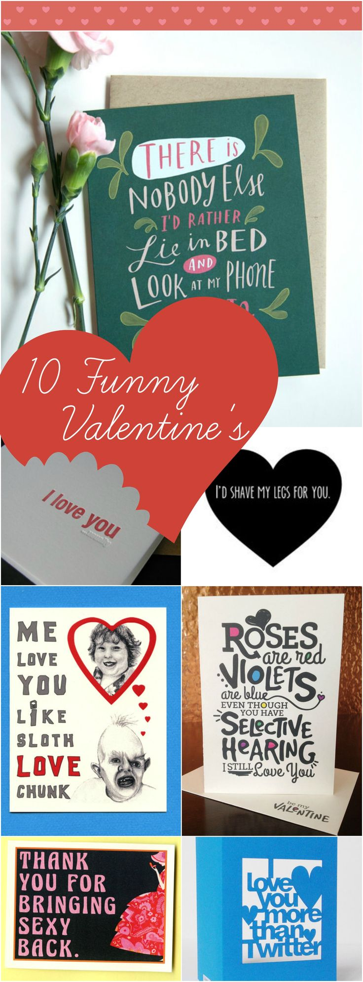 valentines day poems - 10 #funny messages and #quotes for your loved ones! http://www.mumsdays.com/best-valentines-day-poems/