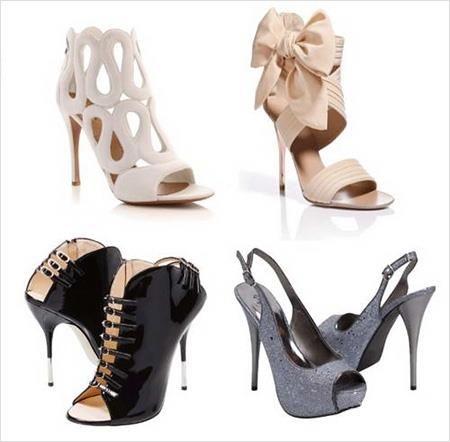 Нарядные стильные туфли на выпускной