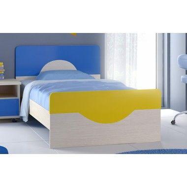 Μονό παιδικό εφηβικό κρεβάτι