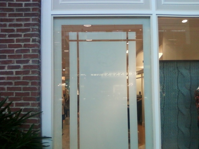 Window Film With Graphic Design Frosted Film Designs