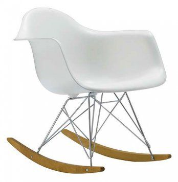 Charles & Ray Eames, Rocking Chair Lounge, 1950 : Eames Rocker, Eames Rocking Chair, Rockers, Rocking Chairs, Plastic Rocker, Baby, Design
