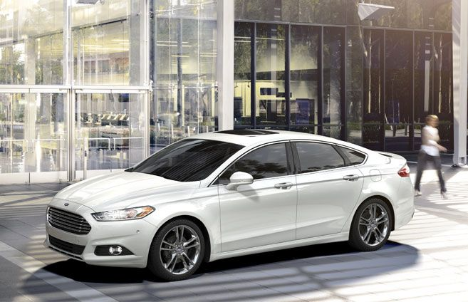 The 2014 Ford Fusion - Sleek and Stylish Design. I love my 2009 Fusion so I know for sure I would love the new one!