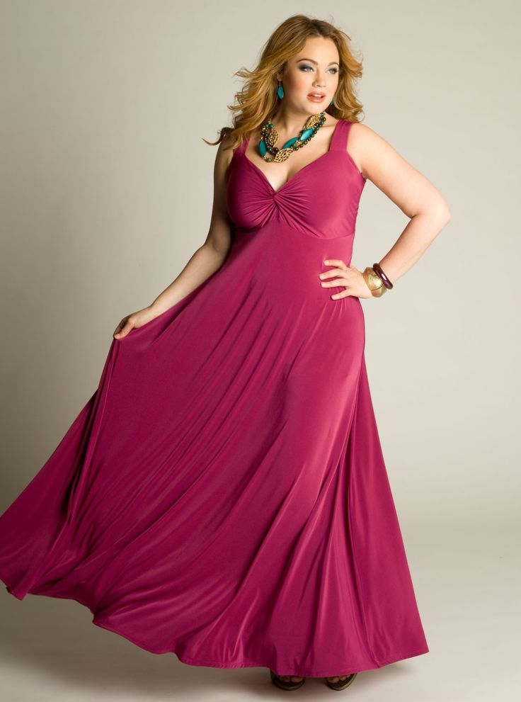 IGIGI Plus Size Rona Maxi Dress
