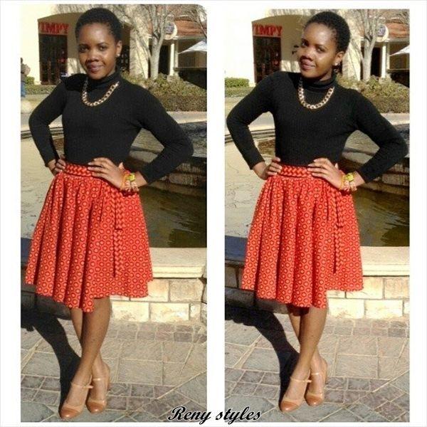 Awesome African Shweshwe Dresses for Women 2017 - Reny styles