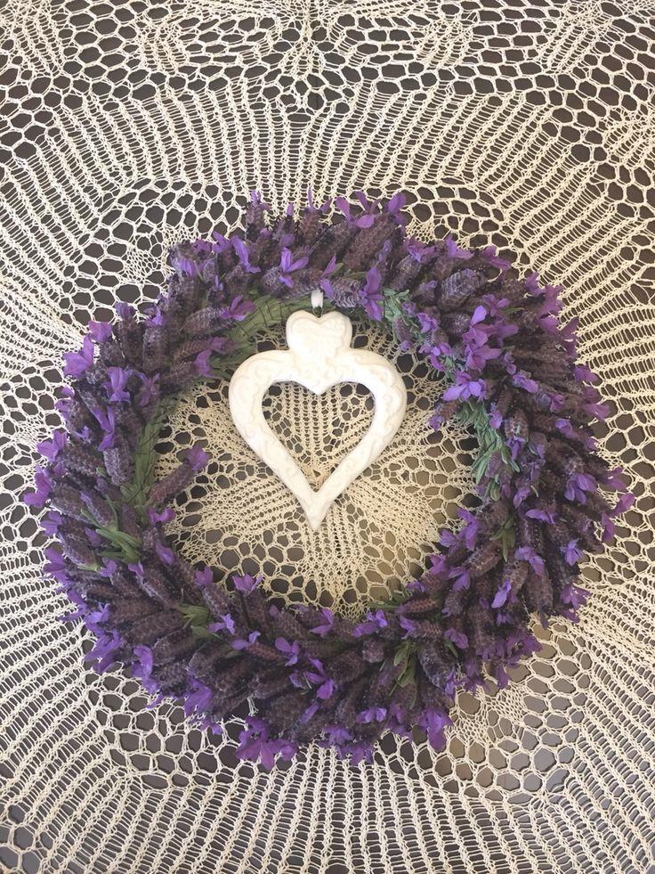 Spanish Lavender Wreath