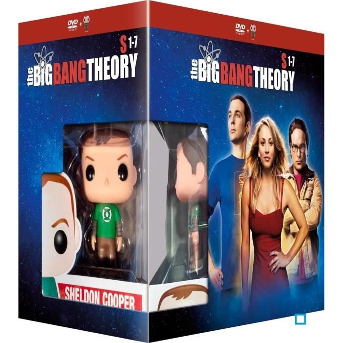 the big bang theory   DVD THE BIG BANG THEORY DVD + FUNKO en dvd série pas cher Jim Parsons ...