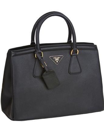 Prada Tote Bag BN2402 Saffiano Black