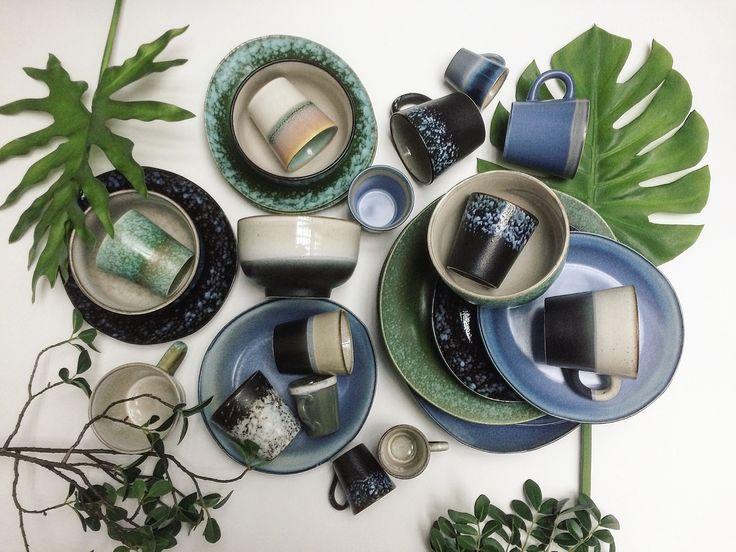 Seventies Ceramics HKliving | Image via Instagram @laifennuver