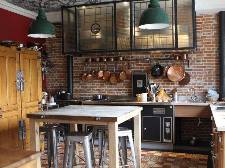 les 25 meilleures id es de la cat gorie hotte cuisine sur pinterest meuble inox cuisines. Black Bedroom Furniture Sets. Home Design Ideas