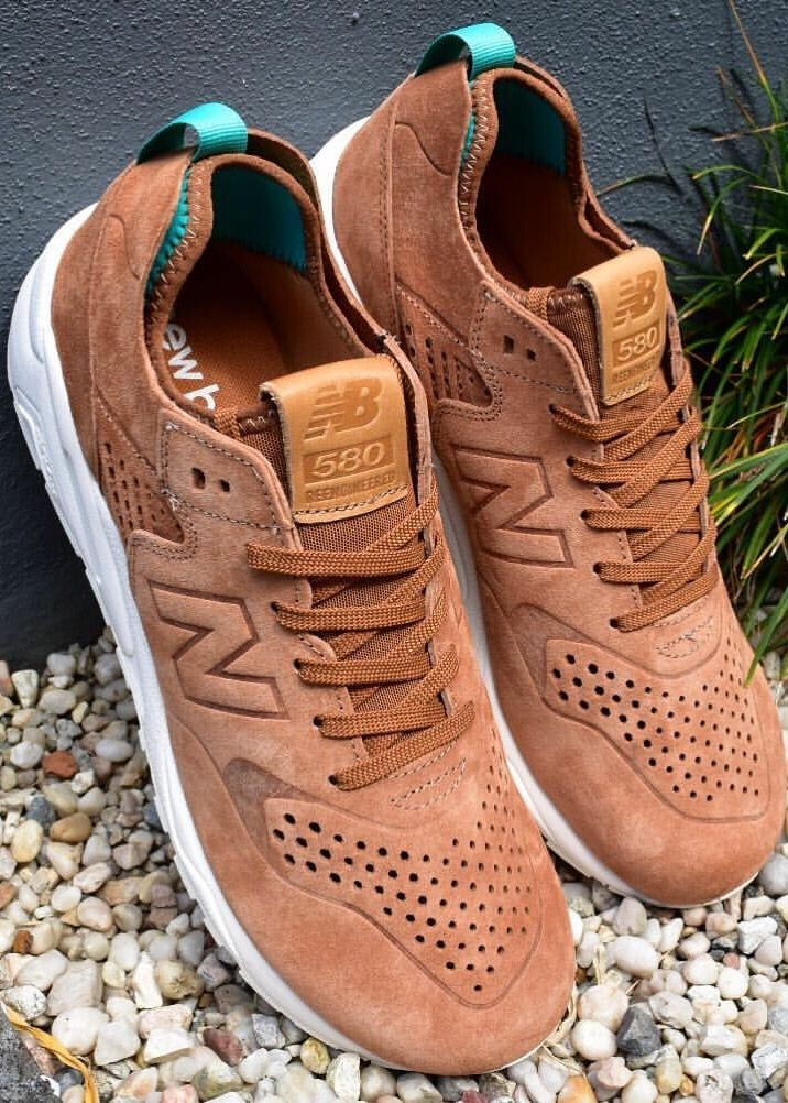 sneakers for cheap de3fd bae3b new balance 580 classic brown