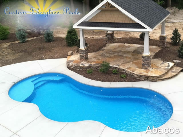 abacos custom fiberglass pools custom fiberglass pools
