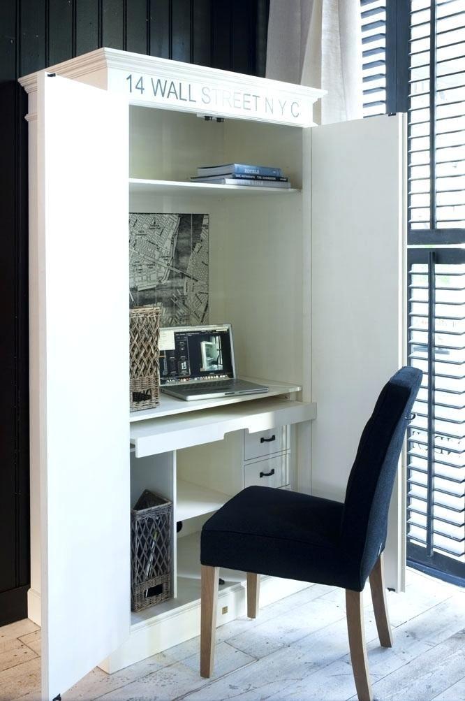 Image Result For Hidden Computer Desk Home Office Design Furniture Home