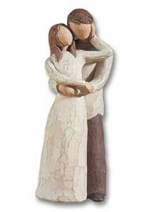 "This Willow figure is named"" Together"". It represents the love of your life. The one you found to be soul mates with. It makes me think of my husband & I."
