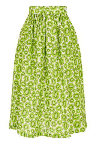 The Fiesta Skirt - Kiwi | Tara Starlet