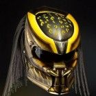 Predator Helmet Street Fighter DOT Approved - Yellow