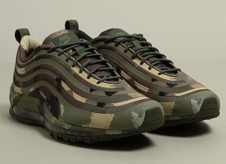 Nike Air Max 97 CVS Camouflage Army Green Black