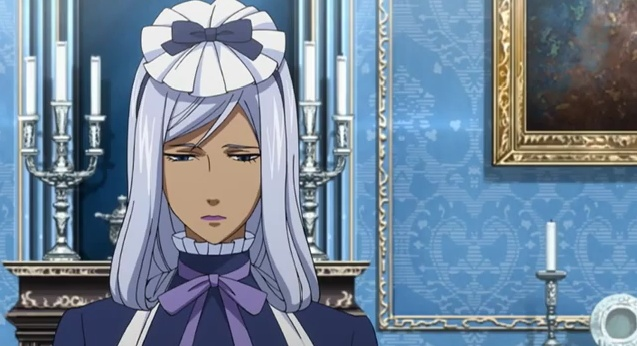 Hannah Anafeloz.- black butler (Shocking, maybe, but I really liked her)