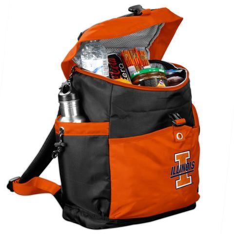 NCAA Illinois Fighting Illini Backpack Cooler