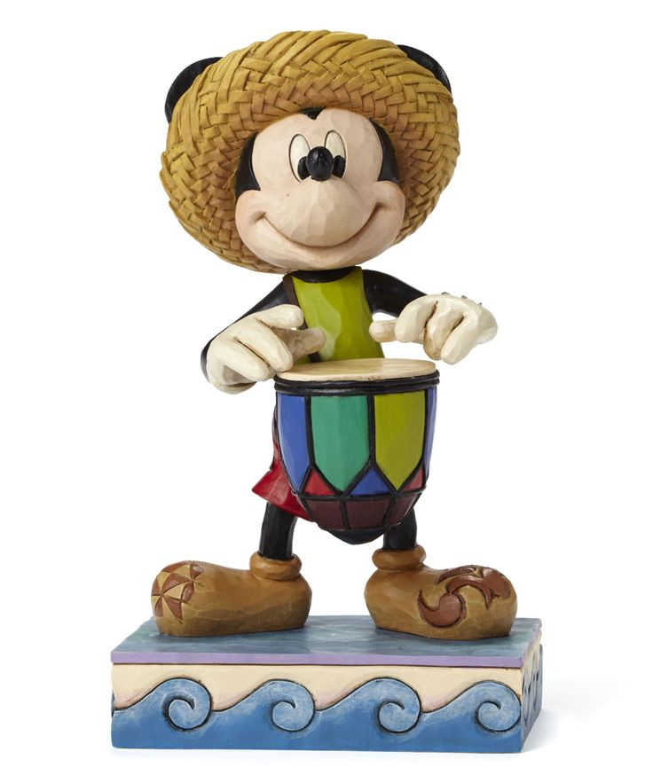 Caribbean Mickey Mouse Figurine