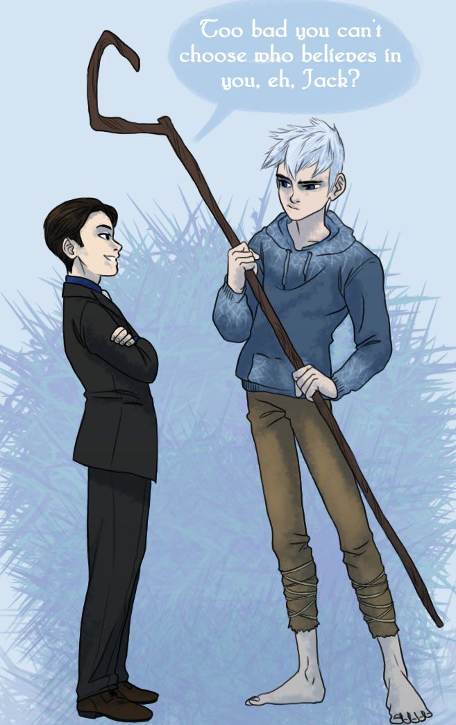 Child-like belief by iesnoth on deviantART ARTEMIS FOWL AND JACK FROST YES. ALL THE YES