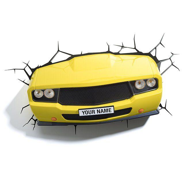 3DFX Kinkiet Dekoracyjny LED Muscle Car 15178 : Oświetlenie dziecięce : Sklep internetowy Elektromag Lighting #kids