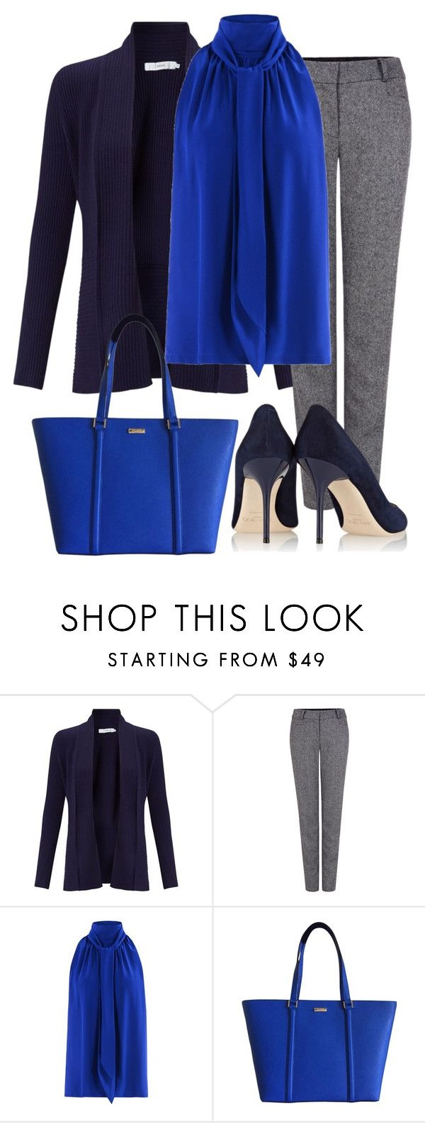 """Untitled 22"" by havlova-blanka on Polyvore featuring John Lewis, Pink Tartan, Barbara Bui, Kate Spade and Jimmy Choo"
