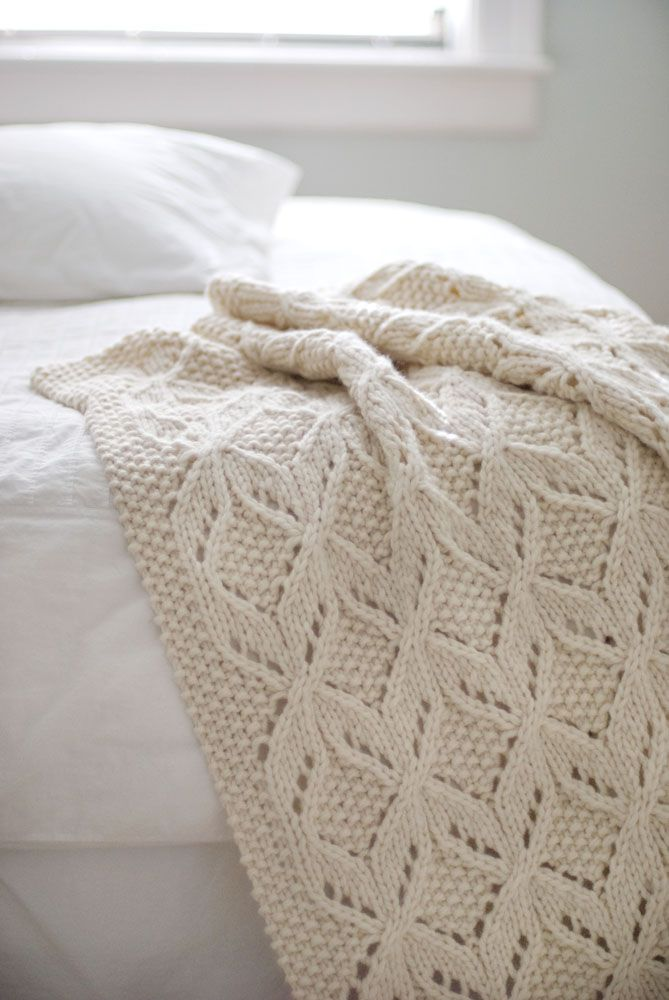 Umaro textured throw - Brooklyn Tweed. As soon as I find the perfect yarn, this project will begin! Love the design!