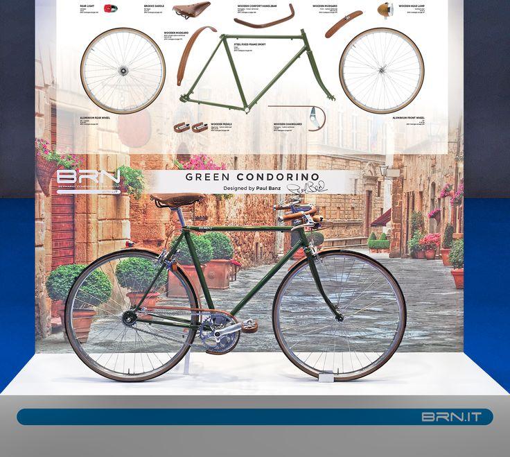 Ecco alcune delle #novità #2017 #BRN presentate in occasione della fiera della #Bicicletta di #Madrid! Questo modello si chiama #Gianluca. Vi piace? #custombike #bikeparts #bicycleparts #fixedgear #frame #bowframe #baaw #bicyclelifestyle #bicyclelove