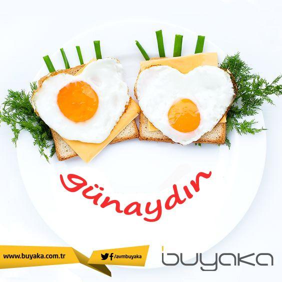 Günaydın. En keyifli hafta sonu kahvaltısı için Buyaka'ya bekliyoruz!:) #BuYakanınLezzetiBuyakada
