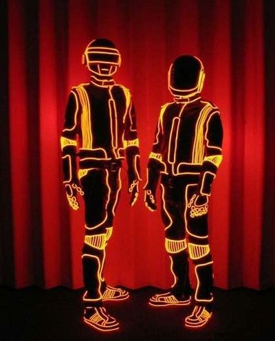 daft punk x justin timberlake � lucky suit & tie