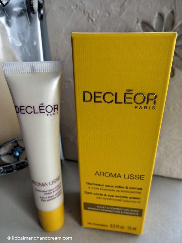 Decléor aroma lisse 2-In-1 dark circle & eye wrinkle eraser #decleor #eyecream #skincare
