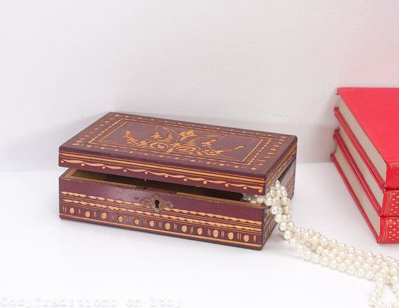 328 best Vintage Jewelry Boxes images on Pinterest Jewel box