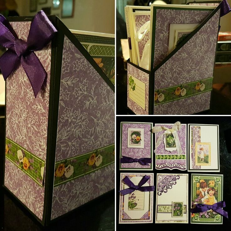 Card box with matching cards