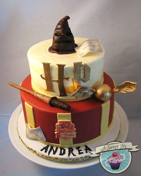 A Sweet Fix Cakes   Harry Potter