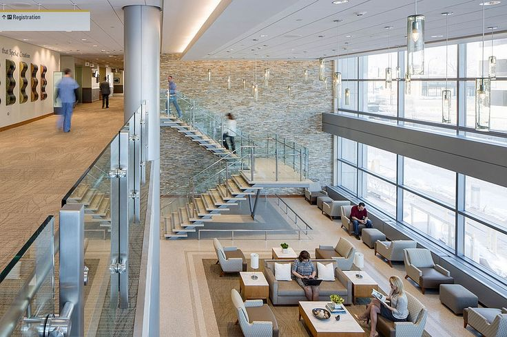 Healthcare, Advocate Christ Medical Center Outpatient Pavilion in Oak Lawn, IL, is a recently completed HDR project in the U.S. #healthcare design