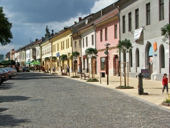 My home town   Spisska Nova Ves - Slovakia