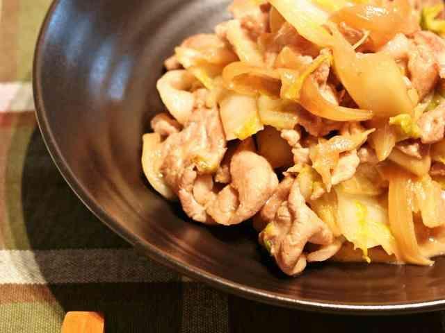 こってり♪白菜と豚肉のオイマヨ炒めの画像