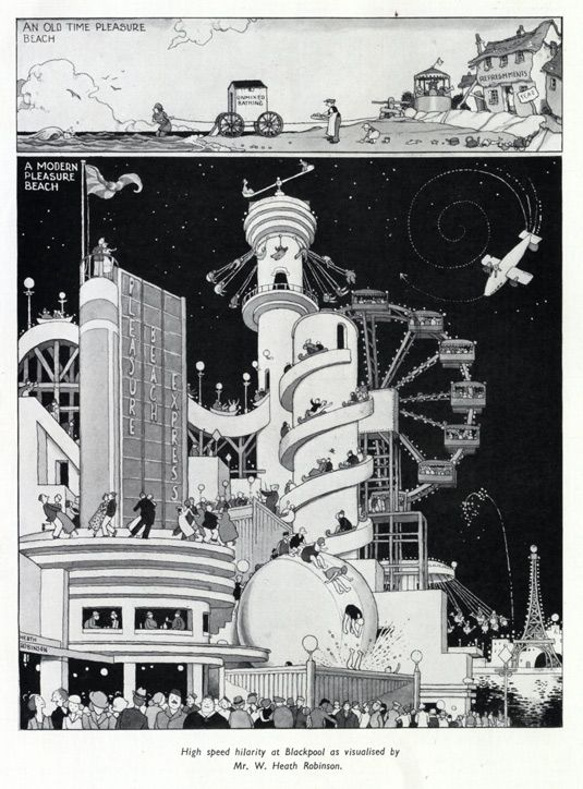 William Heath Robinson exhibition