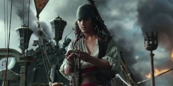 While the first two trailers for Pirates of the Caribbean: Dead Men Tell No Tales showed very little of Johnny Depp's Captain Jack Sparrow, the same can't be said for the trailer that was released this morning.