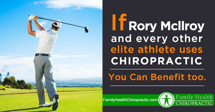 Rory Mcllroy and every other elite athlete use chiropractic to enhance performance. Why? Because a #backproblem is a #brainproblem. The human #spine is an integrated circuit that relays vital nerve impulses to and from the #brain. Disrupting this system effects every physiological process. A  #damagedspine means you have a #damagedbrain. Get #adjusted by your #chiropractor.  http://www.familyhealthchiropractic.com/rory-mcllroy-every-elite-athlete-uses-chiropractic-maximize-performance/