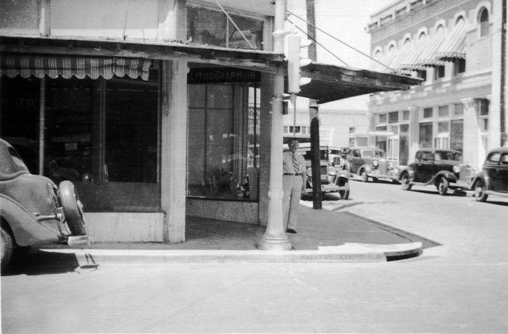 old photos of laredo,texas   SW corner of Lincoln and Salinas, Laredo, TX, abt. 1936 by mamaladama ...
