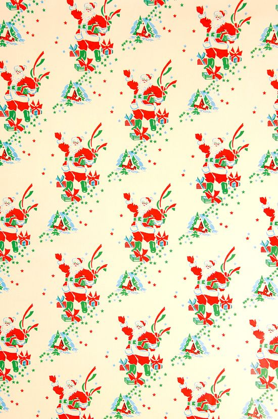 vintage wrapping paper | Christmas Wrapping Paper | Home ...