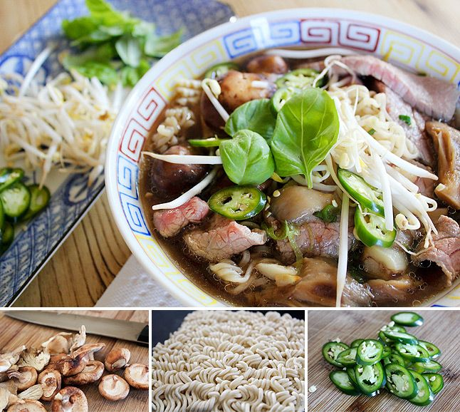faux pho. definitely not to be mistaken for than brothers, but pretty good! and easy.