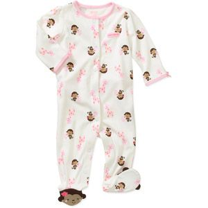 3 a 6 meses - Child of Mine by Carters Newborn Girls' Monkey Sleep n Play