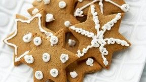 These are delicious.  must make my own soon,   Easy Gingerbread Cookies Recipe | PBS Food